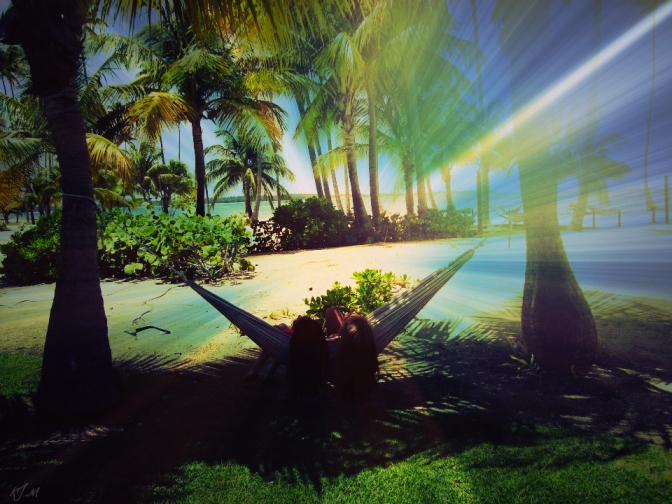 Lounging in the Hammock in Puerto Rico