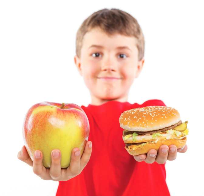 unhealthy-food-vs-healthy-food