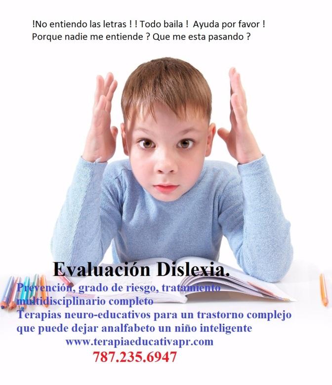 evaluacion dislexia